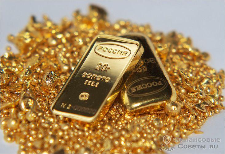 Особенности вложения денег в золото