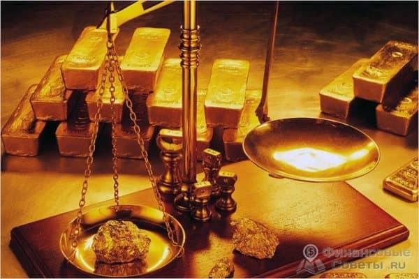 Сколько стоит 1 унция золота