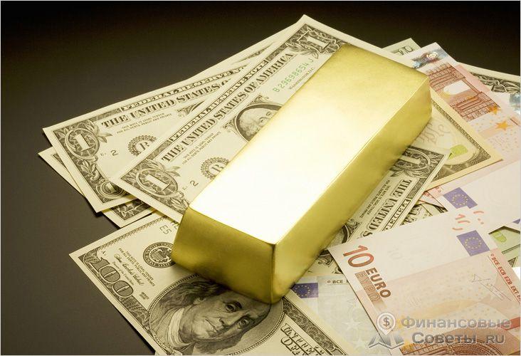 Стоимость унции золота