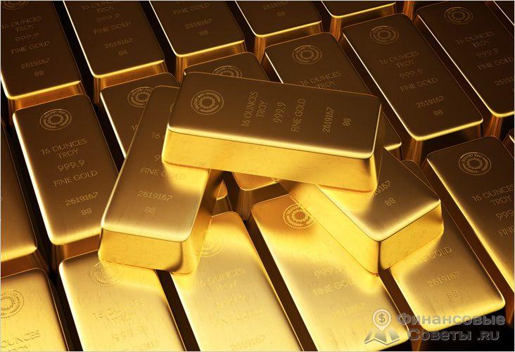Золото есть в резерве у любого банка